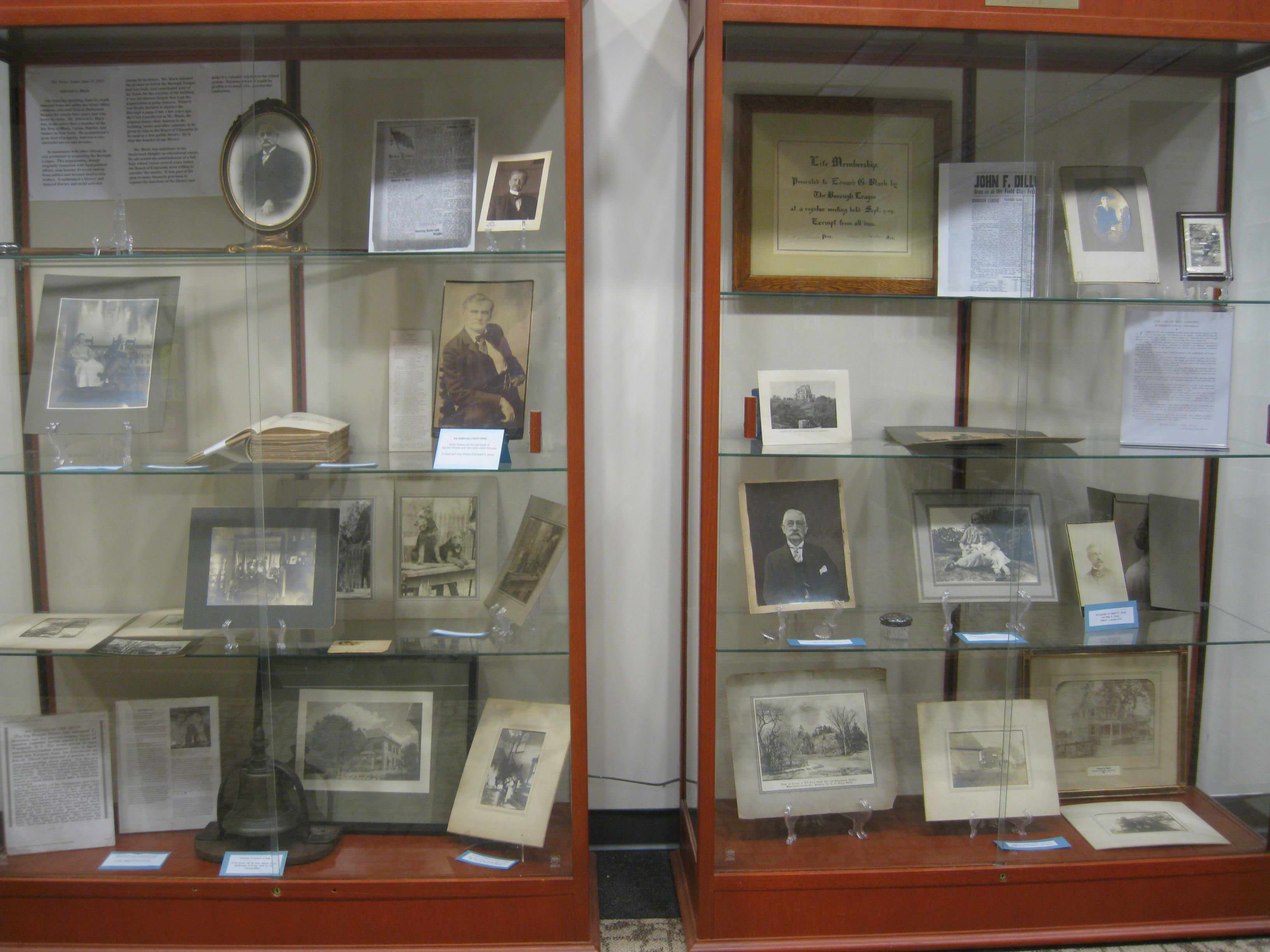 Display celebrates Edward Black